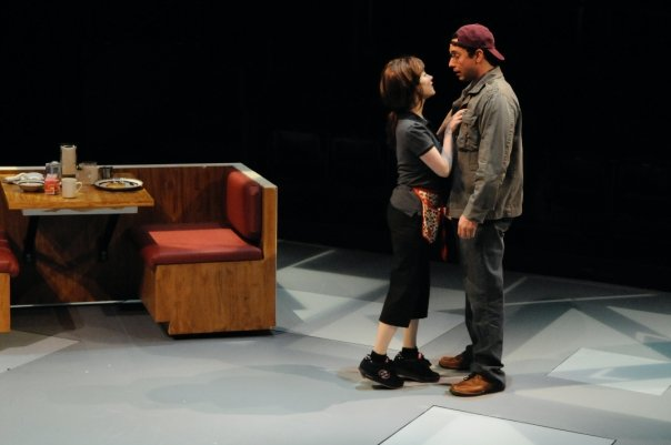"Meredith Zinner and Brandon Morris in ""Surprise"", Actors Theatre Of Louisville (Louisville, KY)"