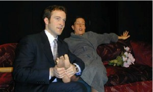 Andy Hoey and Martha Morgan in Brass Tacks Theatre's production of The Rental (New York)